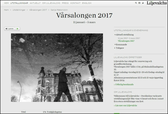 Liljevalchs Vårsalong 2017